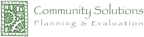Community Solutions - Planning & Evaluation